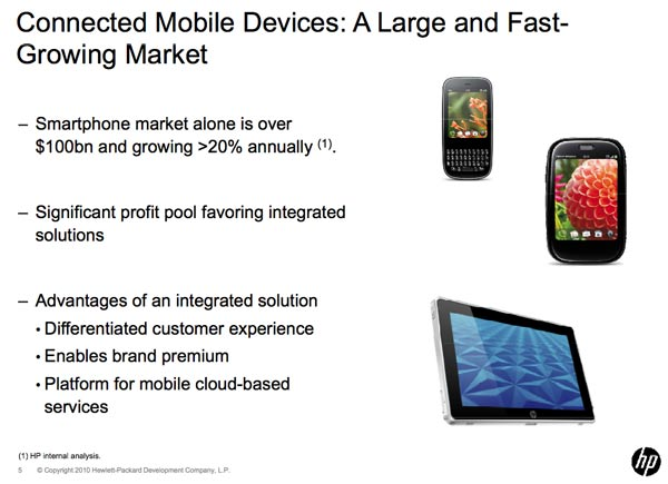 HP Palm Acquisition Slide
