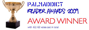 2009 Palm Addict Reader Award