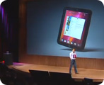 ruby touchpad webos event video