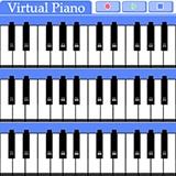 Virtual Piano Palm