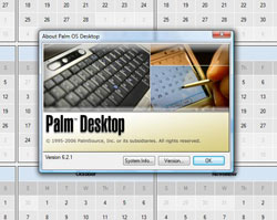 Palm Desktop Vista