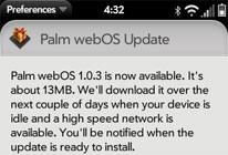 webos update