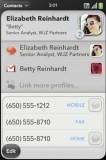 webOS Contact Sync
