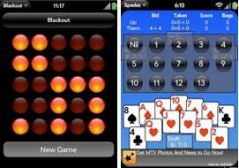 webos palm pre games