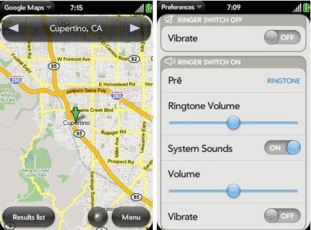 WebOS Screenshots
