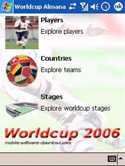 World Cup Guide - Windows Mobile Treo 700w